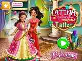 Play Latina Princess Magical Tailor