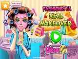 Play Fashionista Real Makeover
