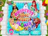 Play Princess Pool Party Floats
