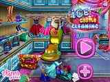 Play Ice Castle Cleaning