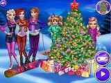 Play Princesses Christmas tree