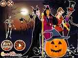 Play Princesses Halloween Night