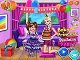 Play Baby Princess Birthday Party