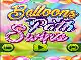 Play Balloons Path Swipe