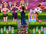 Play Girls Easter Chocolate Eggs