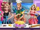Play Sisters Cakes Battle