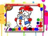 Play Winter Coloring Book