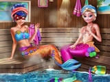 Play Mermaids Bffs Realife Sauna