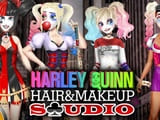 Play Harley Quinn Hair and Makeup Studio
