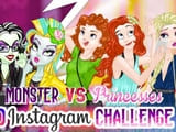 Play Monster Vs Princess Instagram Challenge