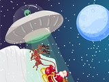Play Christmas Santa Claus Alien War