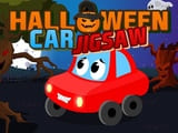 Play Halloween Car Jigsaw