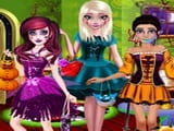 Play Princess Halloween Party