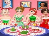 Play Disney Princesses Christmas Dinner