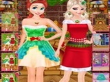 Play Princesses Christmas Photos Album