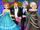 Play Frozen Sisters Wedding Room Design