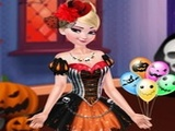 Play Princess Elsa Halloween Night