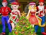 Play Princesses Christmas Family Date