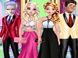 Play Frozen Family Dress Up