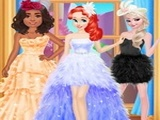 Play Princess Feather Style Dress