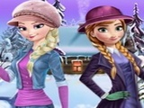 Play Frozen Winter Dress Up