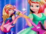 Play Elsa And Anna Royals Rock Dress