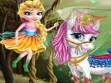 Play Princess Fairytale Pony Grooming
