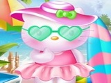Play Hello Kitty Beach Fun