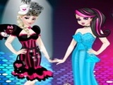 Play Monster High Princess Fashion Mix