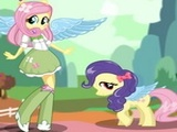 Play Fluttershy Pony Dress Up