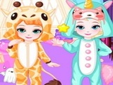 Play Frozen Baby Bedtime Caring
