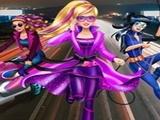 Play Barbie Agent Team Dress Up
