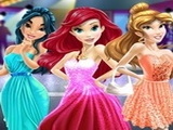 Play Disney Princess Prom Dress Up