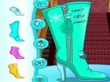 Play Elsa Boots Design