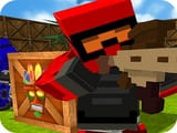 Play Blocky Gun Paintball 2