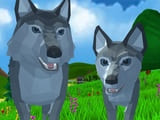 Play Wolf Simulator Wild Animals 3D