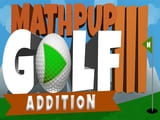 Play MathPup Golf Addition