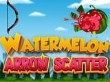 Play Watermelon Arrow Scatter Game