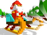 Play Sliding Santa