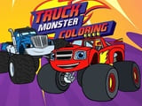 Play Monster Truck Coloring