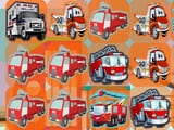 Play Emergency Trucks Match 3