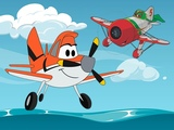 Play Planes Coloring Book