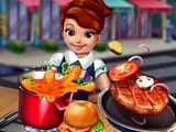 Play Cooking Fast Hotdogs And Burgers Craze