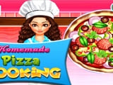 Play Homemade Pizza Cooking