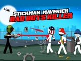 Play Stickman maverick  bad boys killer