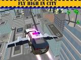 Play Police Flying Car Simulator