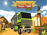 Play Farm Animal Truck Transporter Game