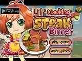 Play Cooking Steak Dinner